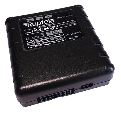 GPS трекер Ruptela FM-Eco4Light+ S